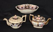 18th Century Royal Worcester & RC Derby Porcelains
