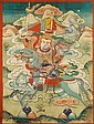 A THANGKA OF THE YAKSHA YANGLEBER