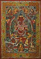 A THANGKA OF THE TRANSCENDENTAL BUDDHA AMITABHA