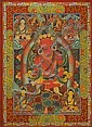 A THANGKA OF THE AMITABHA BUDDHA