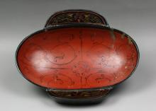 A Chinese Antique Han Style Lacquer Bowl
