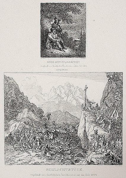 LUDWIG HAACH Meissen 1814 - 1842 Rom Keine Lust zu