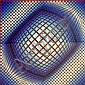 VICTOR VASARELY (1906 - 1997), Limited Edition Serigraph, Title:  Untitled (Sphere), Signed Lower Right, Editioned Lower Left:  47/200, Titled Lower Centre