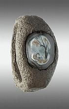 A onyx intaglio ring. Roman, 2nd-3rd cent. AD.
