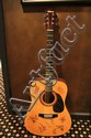 Accoustical Guitar Signed with Hand Written Songs #1 Hits ,