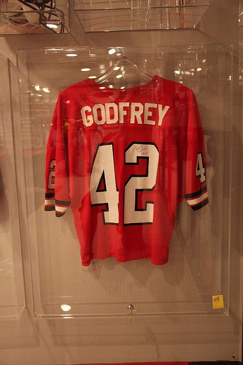 Randall Godfrey Georgia Jersey- Game Worn