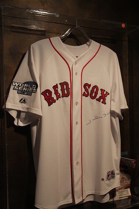 Red Sox-Johnny Damon Jersey.