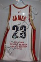Lebron James Autographed Jersey w/COA