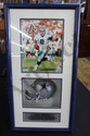 Troy Aiken Photo Signed & Mini Helmet