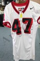 Edwards Game Worn Jersey #75 Visitor