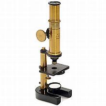 Brass Monocular Microscope by Krüss, c. 1880