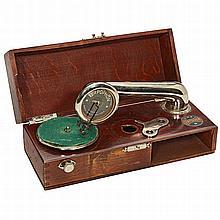 Terpophon Miniature Gramophone, c. 1920