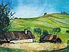 Ernst Huber (1895-1960), Painting, Summer Landscape, c. 1935