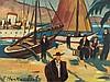 Franz Heckendorf (1888-1962), Mediterranean Harbor, 1939