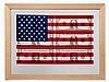 Steven D. Gagnon (b. 1973), '$ 1 U.S. Flag', U.S., 2001