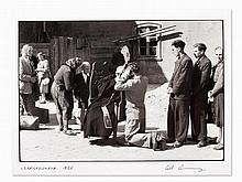 Erich Lessing (b. 1923), Street Confession, Czestochowa, 1956