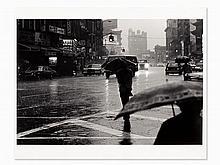 Josef Polleross (b. 1963), 'Canal Street', Signed, NYC, 1980s