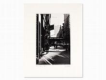 Josef Polleross (b. 1963), '5th Avenue', Signed, NYC, 1980s