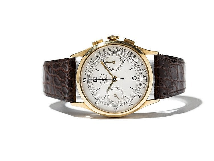 Chronograph signed Vacheron Constantin, Switzerland, C. 1950