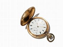 Heavy A.W. & Co Waltham Pocket Watch, USA, Around 1884