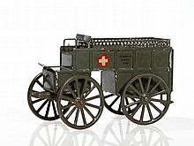 Rare Märklin Horse-Drawn Ambulance, Germany, around 1910