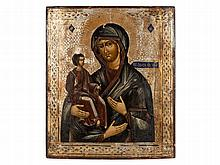 Icon of the 'Three-Handed Mother of God', Russia, 20th Century