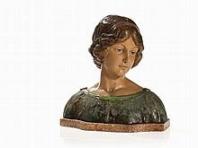 Fritz Kochendörfer, Female bust, Germany, around 1900