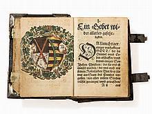 Prayer Book of Augustus I of Saxony & Psalms, Lufft, 1541