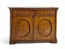 Cabinet with Fine Grain, Louis Philippe, c. 1860