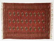 Buchara carpet with guls from Turkmenistan, 450.000 knots/m2