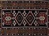 Antique Kazak Rug with Richly Coloured Pattern, 20th Century