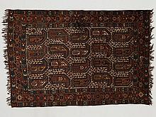 Gashgai nomad carpet with botehs, Iran, 160.000 knots/m2