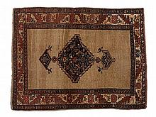 Antique Persian Bidjar Rug made of Sheep's Wool, 19th C