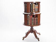 Revolving Book Case, England, 1880-1900