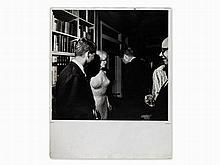 Bill Ray, Marilyn Monroe at Kennedy's Birthday Party, USA, 1962