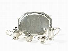 Christian Heise, Silver Coffee & Tea Service, Denmark, c. 1920