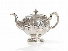 Sterling Silver Pot, Marshall & Sons, Edinburgh, 1835