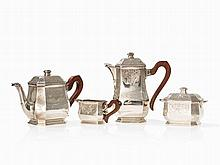 French 4-Piece Tea and Coffee Service, Paris, Early 20th C.