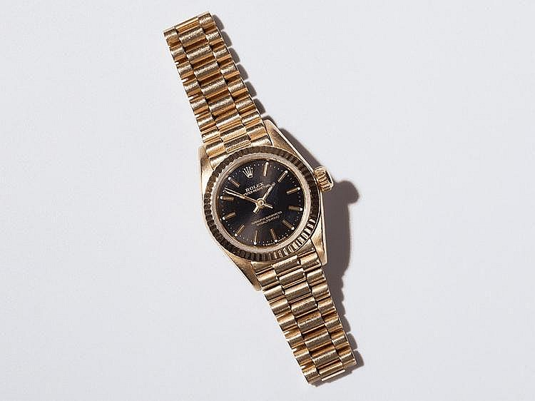 18 carat Yellow Gold Rolex