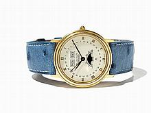 Blancpain Calendar Watch, Switzerland, Around 1990