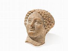 Head of a Young Man, Sicily, circa 5th Century BC