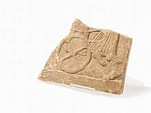Relief Fragment of a Pinax, Greece, 490-460 BC