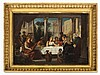 Adolf Wichmann (1820-1866), Wedding Feast, presumably 1850/60s
