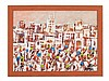 Mohamed Hamri (1932-2000), Oil Painting, Medina, around 1970