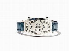 Cartier Tonneau Dual Time Men's Watch, Switzerland, c. 1995