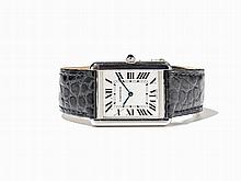 Cartier Tank Wristwatch, Ref. 2782, around 1990
