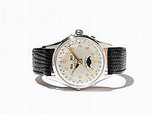 Enicar Full Calendar Wristwatch, Switzerland, Around 1950