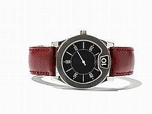 Bulgari Jumping Hour Wristwatch, Switzerland, Around 1995