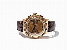 Unmarked Gold Chronograph, Switzerland, Around 1955