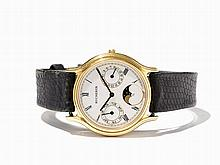Bucherer Calendar Wristwatch, Switzerland, Around 1990